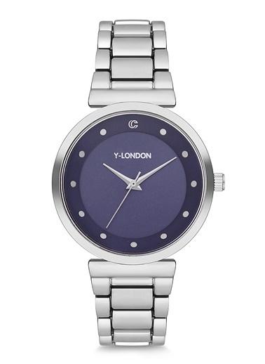 Y-London Saat Gümüş